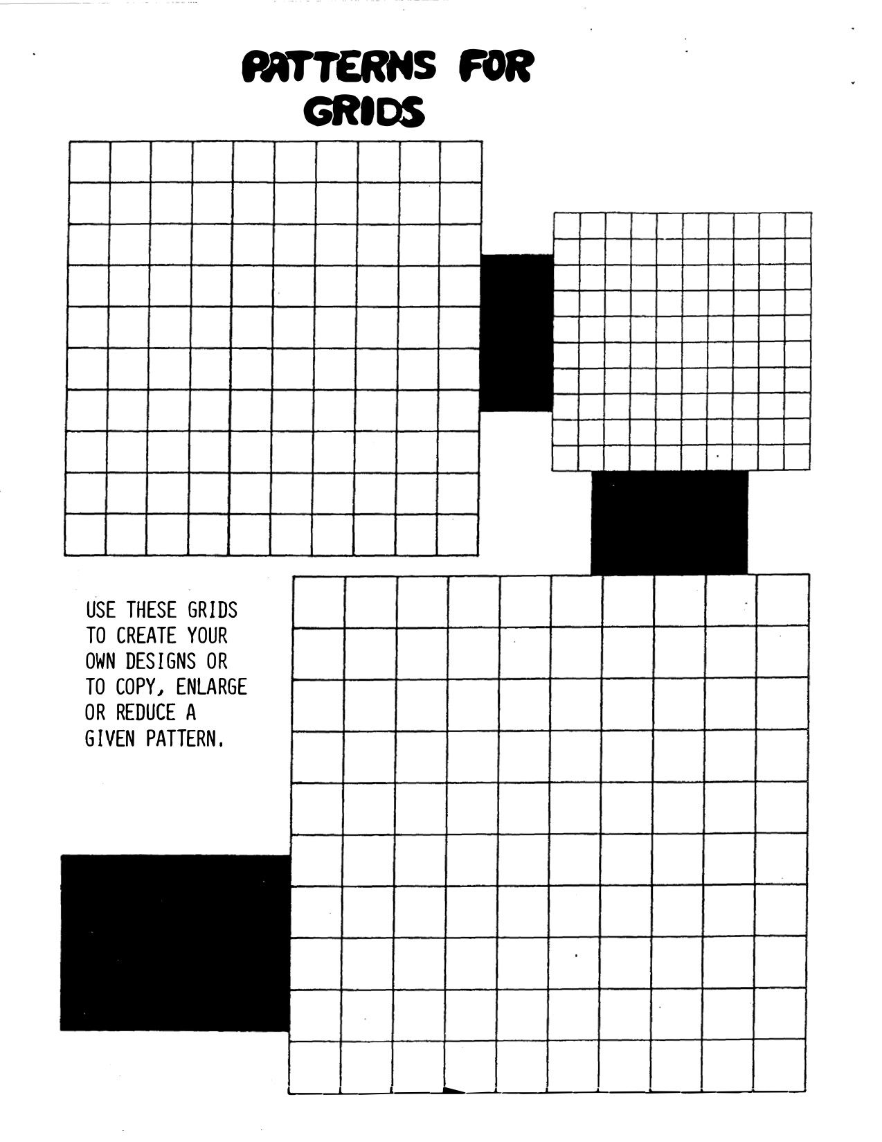 Patterns For Grids