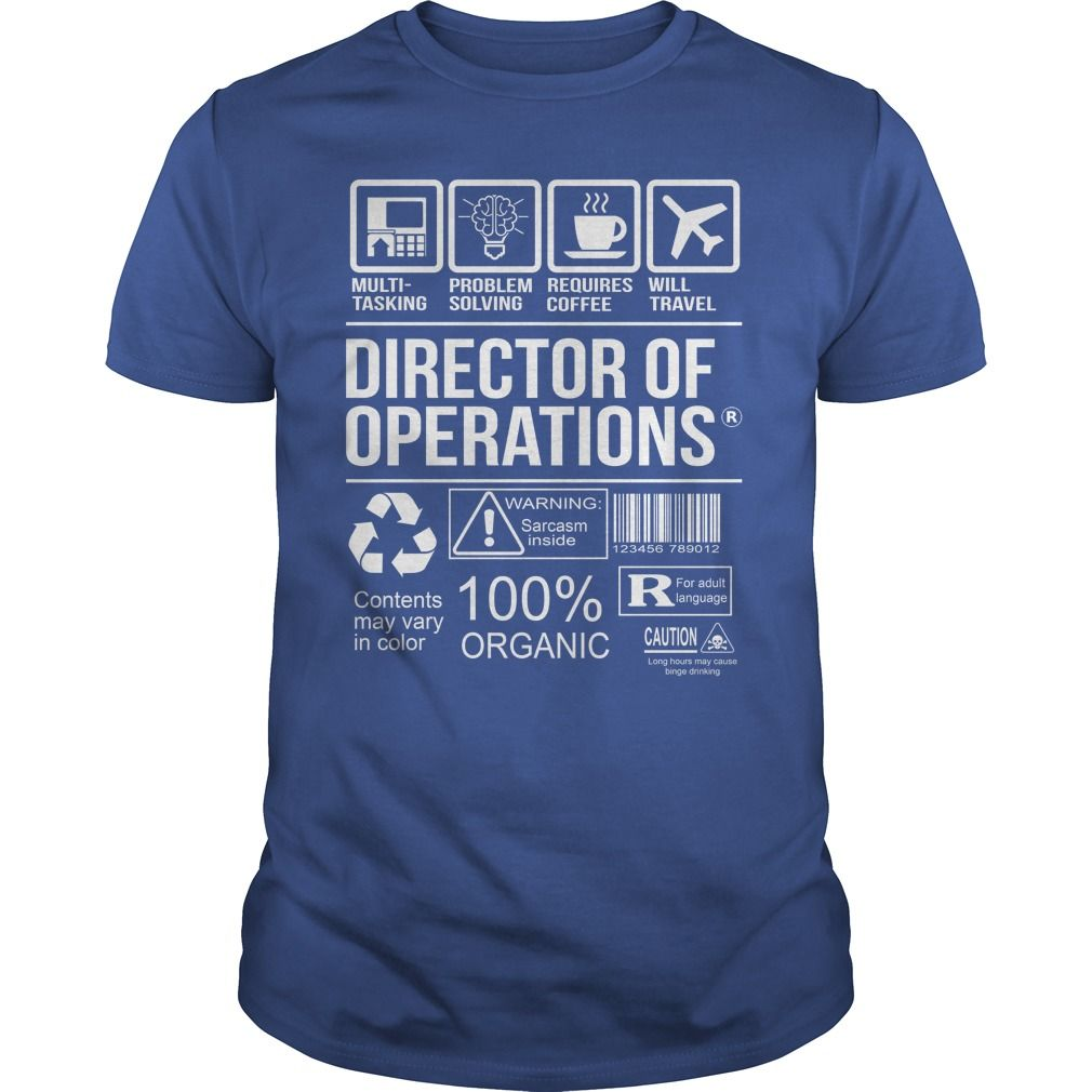7ebe4d68fc3aec Awesome Tee For Director Of Operations T-Shirts