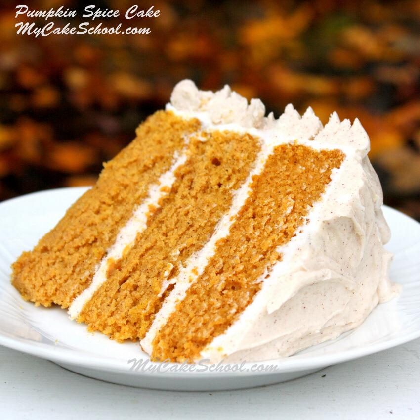 Pumpkin Spice Cake~ (Scratch #pumpkinspicecupcakes