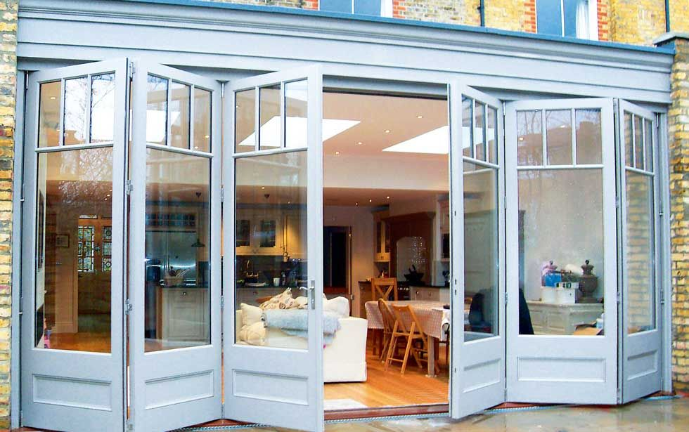Bi Fold Doors Can Be A Modern But Traditional Addition To A Period