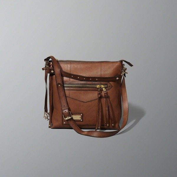 Abercrombie & Fitch Leather Heritage City Tote ($150) via Polyvore featuring bags, handbags, tote bags, brown, brown tote bags, zipper tote, handbag tote, leather tote handbags and genuine leather tote