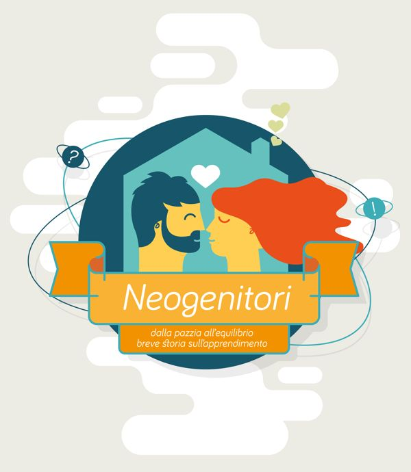 Neogenitori - dalla pazzia allequilibrio by Pierfrancesco PEPO Annicchiarico, via Behance