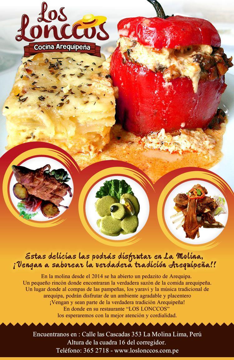 restaurant flyer template word pdf psd eps indesign flyer realizado para el restaurat de comida arequipentildea los lonccos