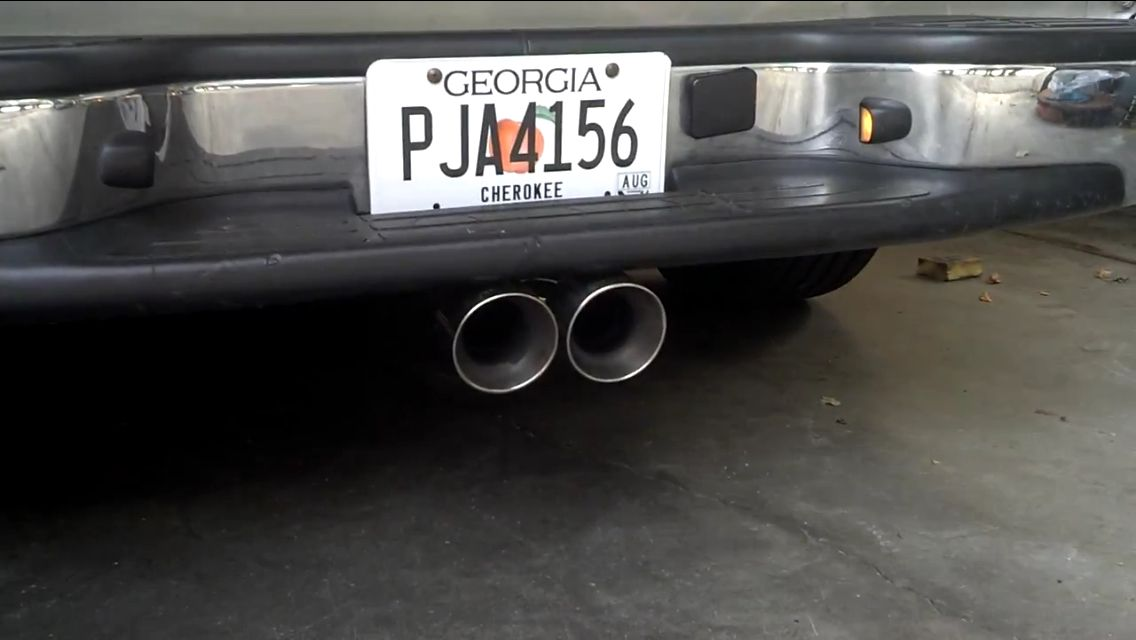How I want the exhaust to exit Chevy trucks, Chevy, Trucks
