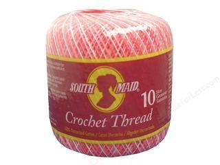 J&P Coats Knit-Cro-Sheen Crochet Thread White -- CreateForLess