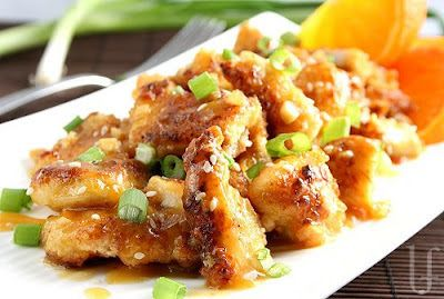 *Riches to Rags* by Dori: Orange Chicken On The Lighter Side