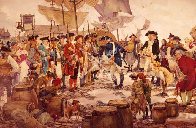 The First Recruits December 1775 By Col Charles Waterhouseusmcr