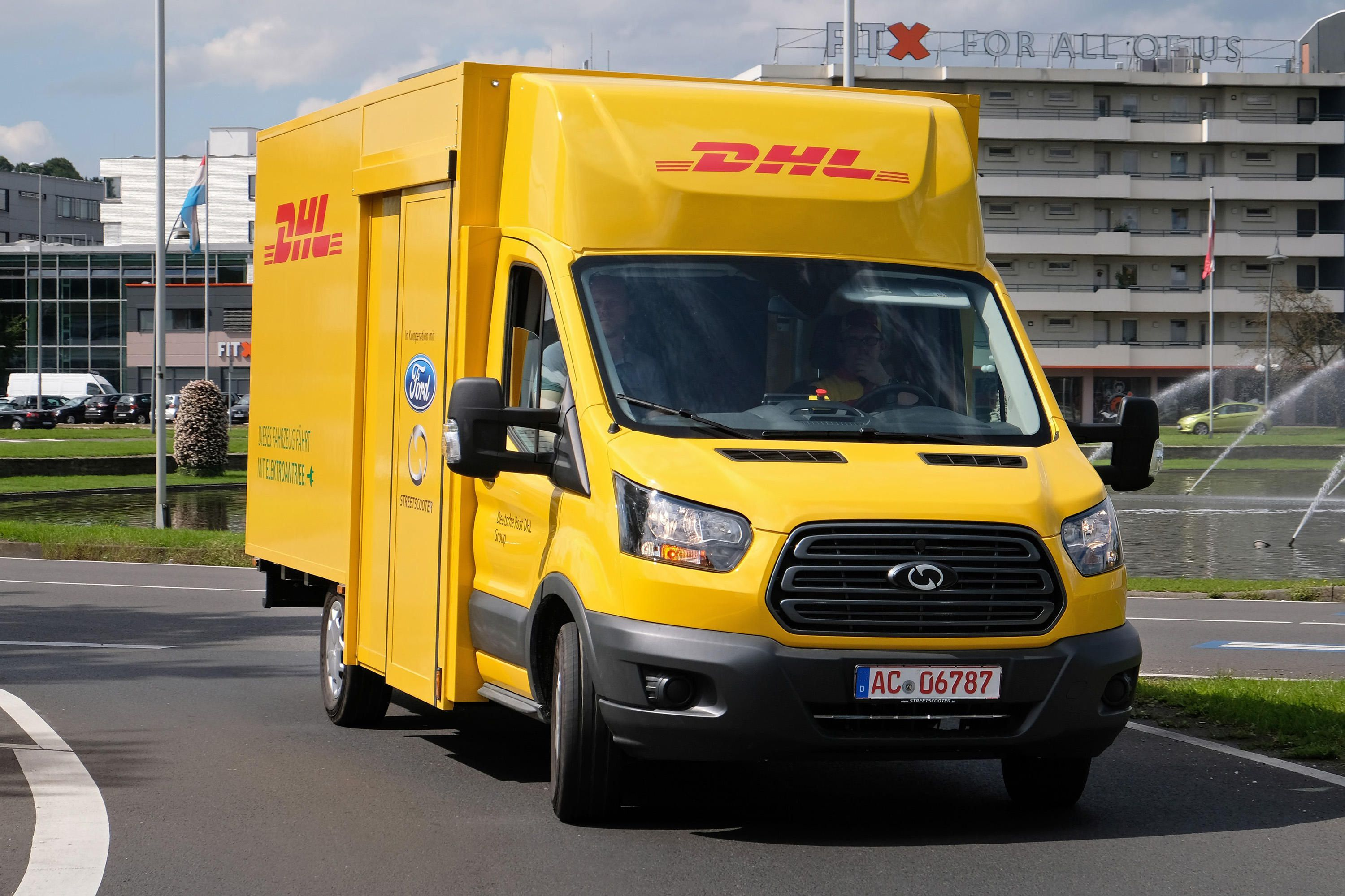 Ford and DHL are teaming up on a bigger electric delivery