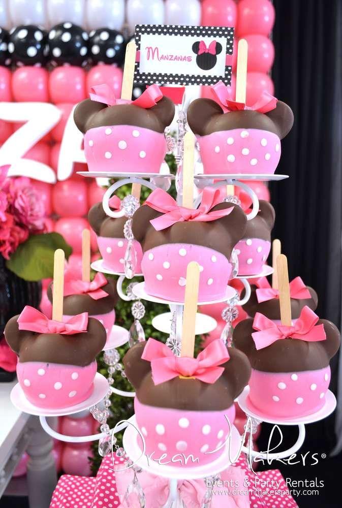 Minnie Mouse Polka dots Birthday Party Ideas Polka dot birthday