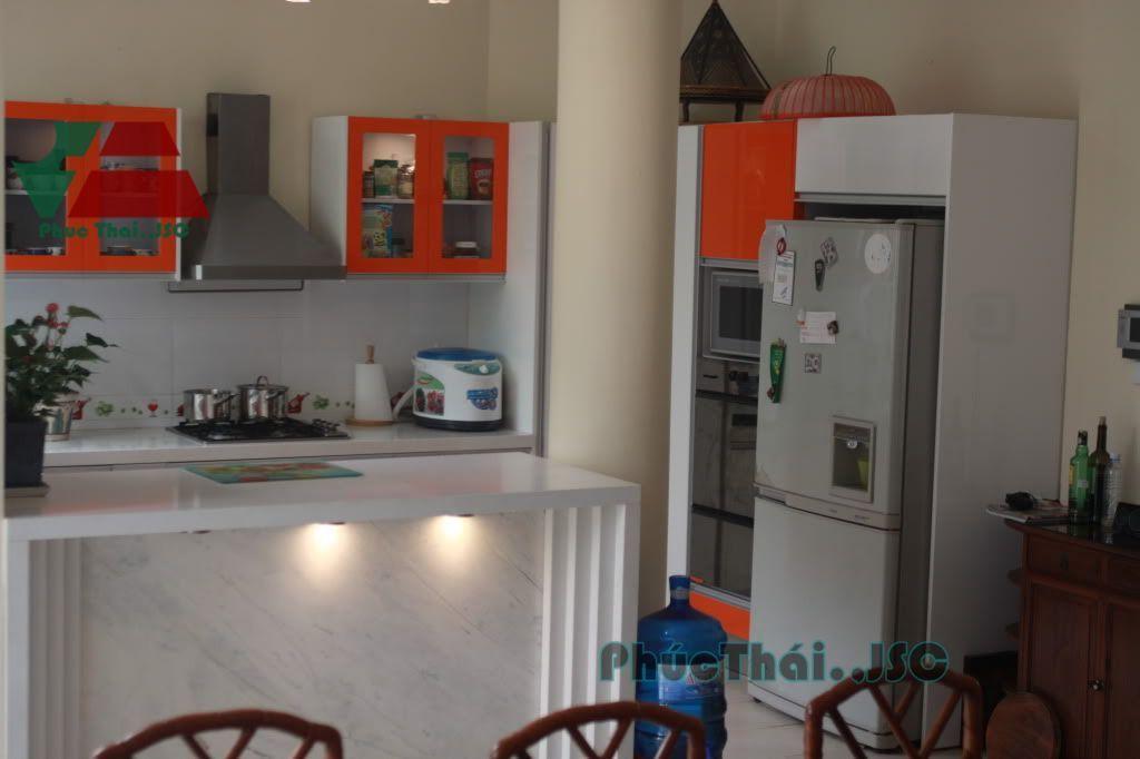 tủ bếp hiện đại MS04 - Nội thất Phúc Thái