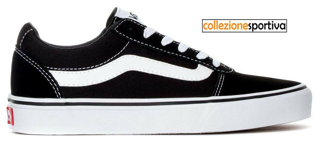 vans scarpe bianco nero