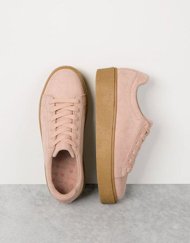 quality design 5726f f79d4 Black Friday   Scarpe Fino a -30%   Bershka Zapatos Oxford Mujer, Zapatillas