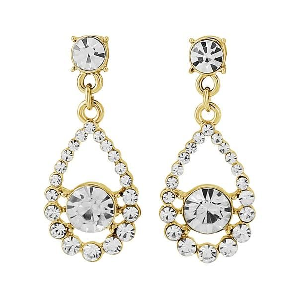 Desiree Gold Drop Earrings - Something New..
