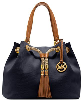 205a29d52995 MICHAEL Michael Kors Handbag, Marina Large Gathered Tote - Handbags &  Accessories - Macy's