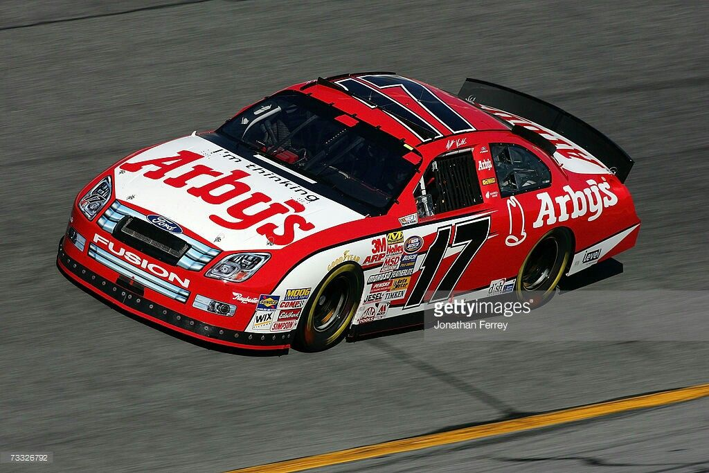 Matt Kenseth Driver Of The 17 Arbys Ford Drives During Practice
