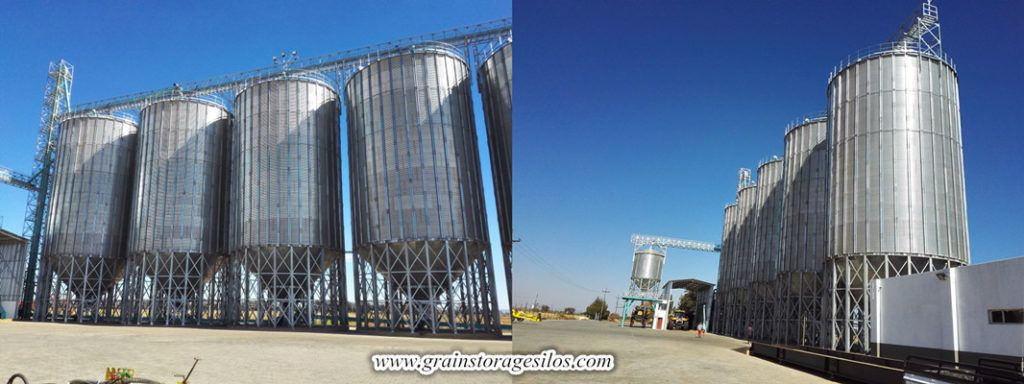 Wheat Steel Silos Designed And Manufacturer By Shelley Engineering Was Wheat Steel Silos Were Successfully Run In South Africa For Mo Silos Grain Storage Steel