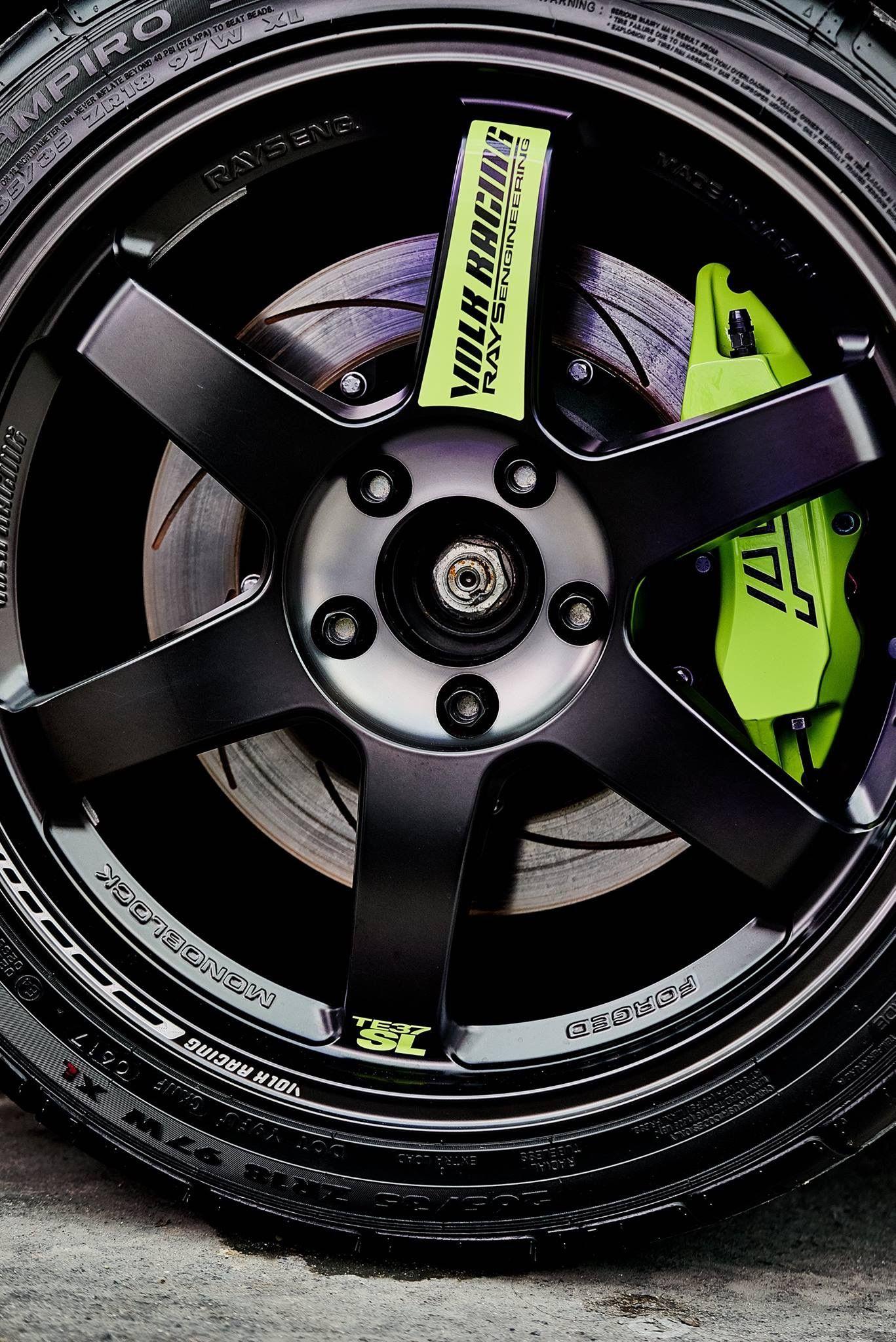 Rays Volk Racing Te37 Car Wheels Rims For Cars Modified Cars