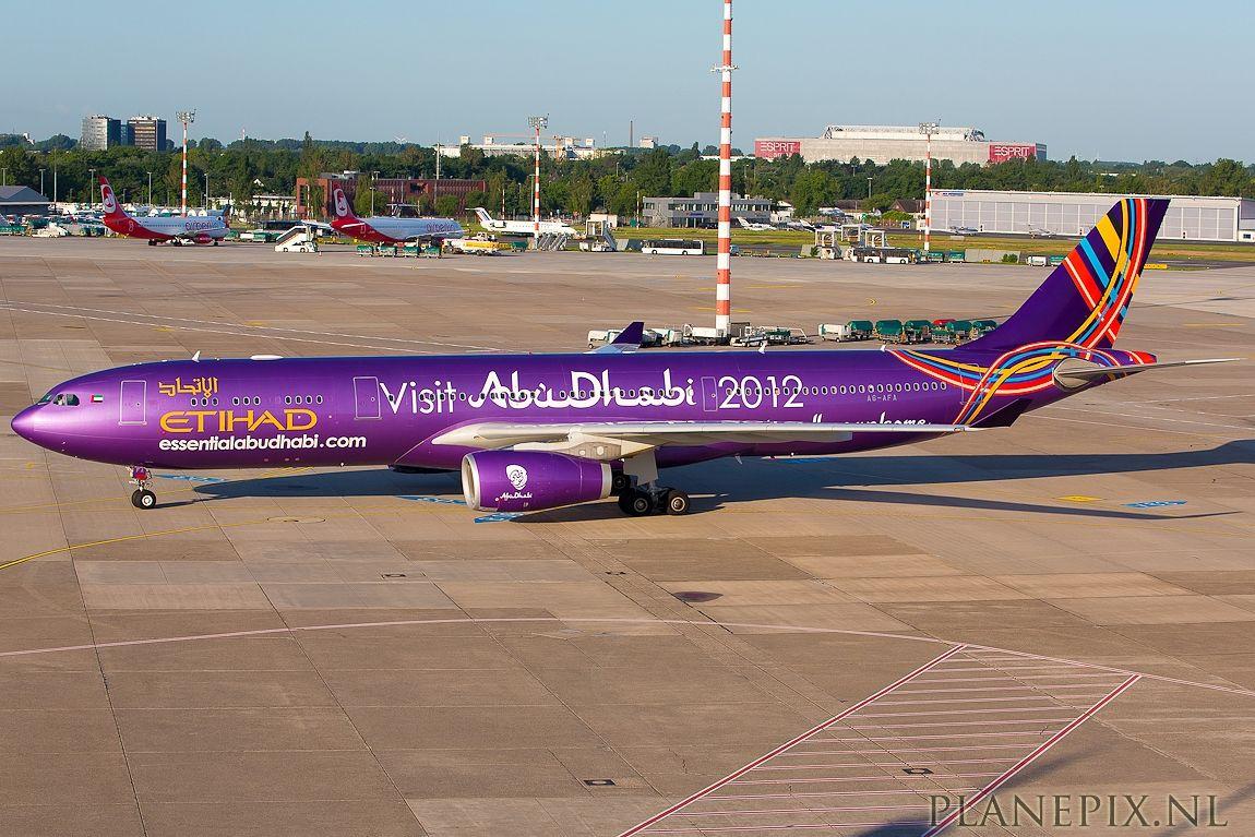 Etihad - Airbus 330-300 - Abu Dhabi 2012 Grand Prix - Planepix.nl