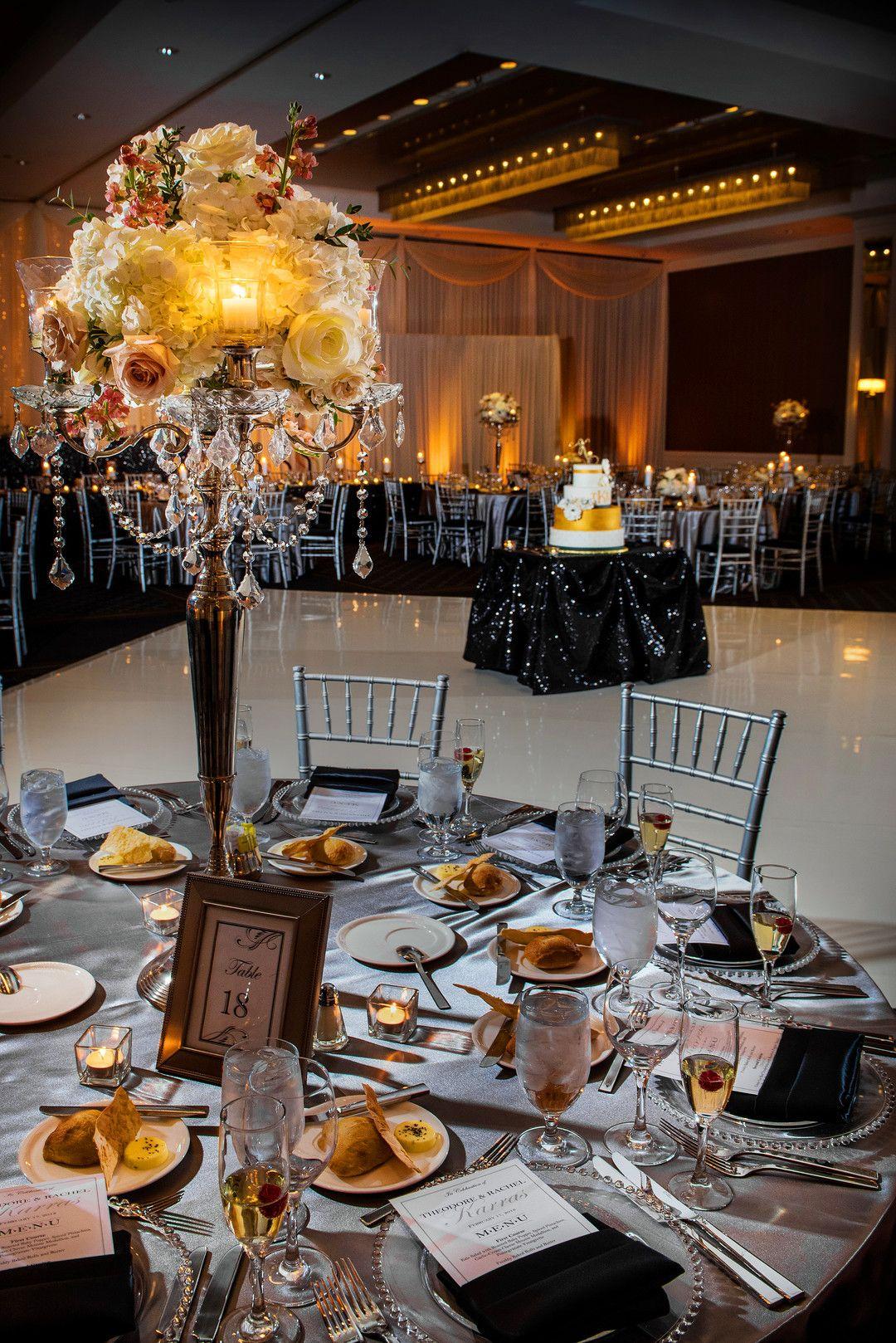 Luxurious Winter Wedding At Hotel Arista In Naperville Il Captured By Jason Kaczorowski Wedding Reception Decorations Winter Wedding Wedding Reception Design