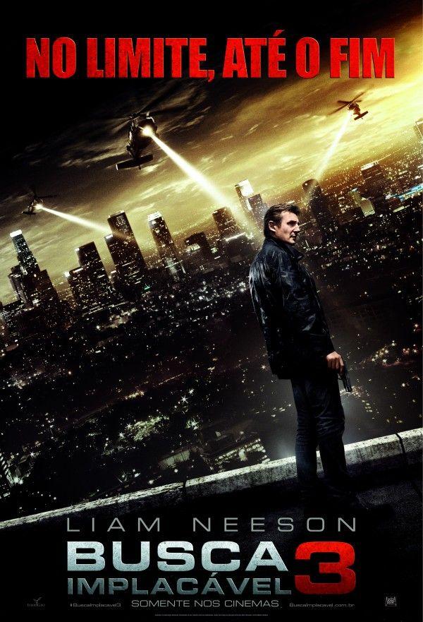 Poster Nacional De Busca Implacavel 3 Estrelado Por Liam Neeson