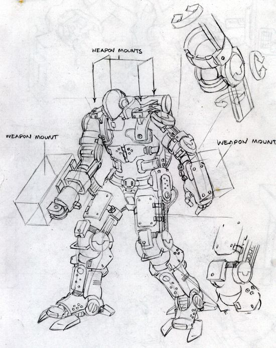 ExoSuit concept 1.0 by Legato895.deviantart.com on @DeviantArt