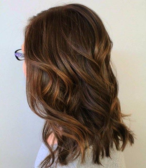 60 Looks with Caramel Highlights on Brown and Dark Brown ... - photo #11