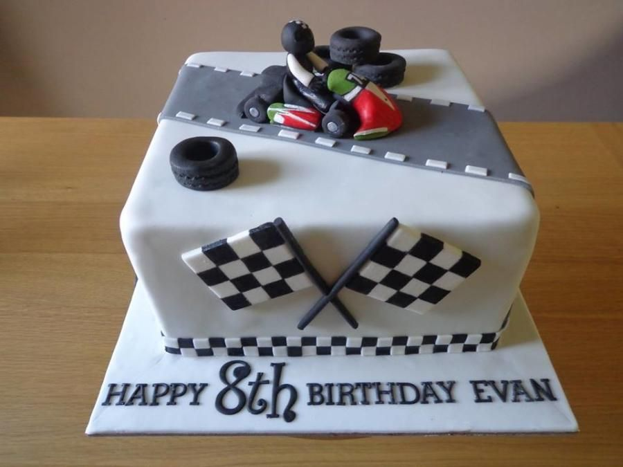 Go Kart Cake By Zoe Robinson With Images 10 Birthday Cake