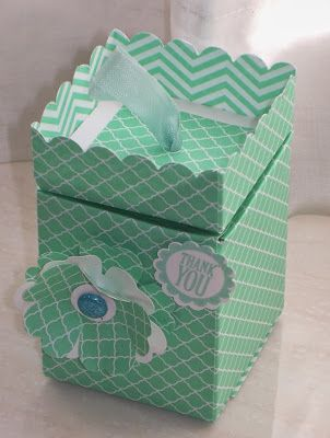 elizabeth's craft room: VIDEO - Punch Board Pop-Up Box