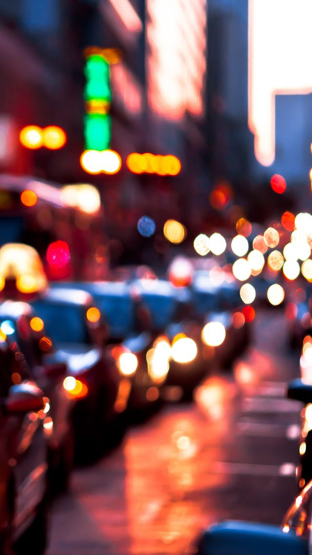 Blurred Lights Iphone Wallpapers With Images Blurred Lights