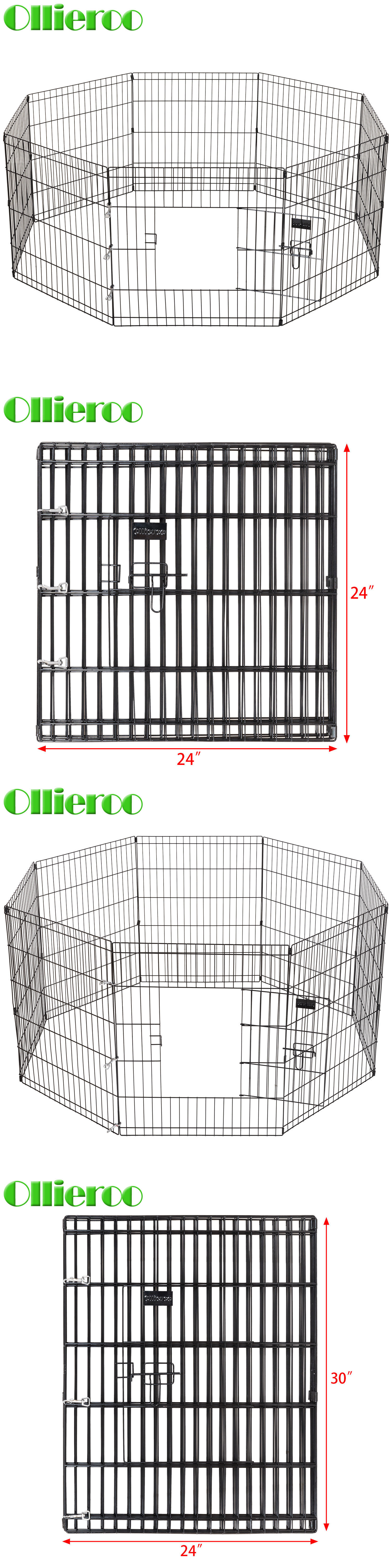 Fences and Exercise Pens 20748: 24 30 Tall Wire Fence Pet Dog ...