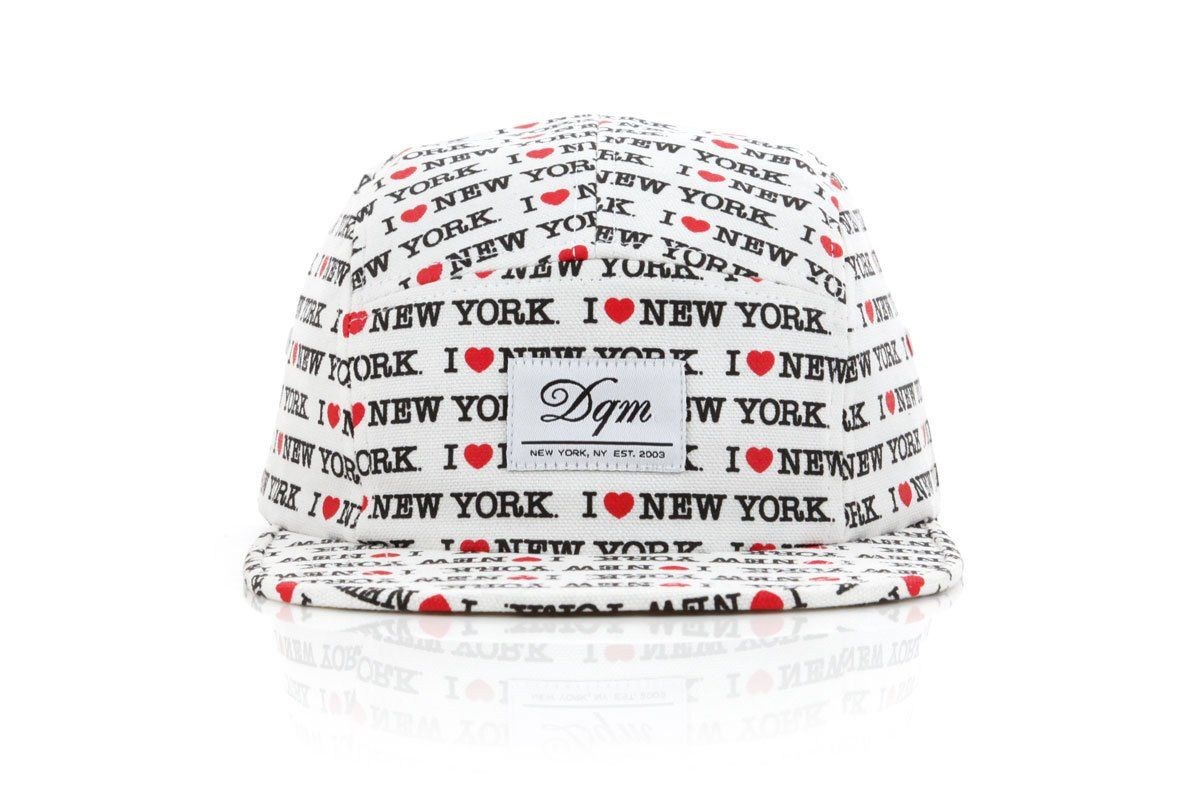 "Image of DQM ""I Love NY"" Hat  Tee"
