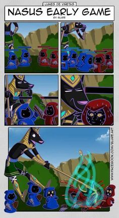 Nasus Early Game League Of Legends Comic League Of Legends Lol League Of Legends