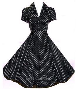 Details about Womens Plus Size 1940\'s 1950\'s Classic Rockabilly ...