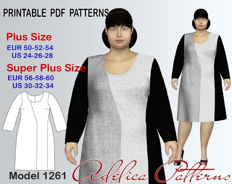 photo about Free Printable Plus Size Sewing Patterns known as Furthermore measurement Gown Sewing Behavior PDF, measurements 24-34 Craftsy