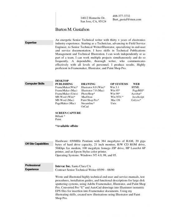 Example Resume Resume Templates For Pages Mac Resume Templates - example of a resume format