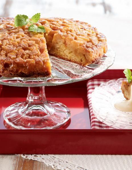Raparperi-omenakeikauskakku | Tortut ja piirakat | Pirkka