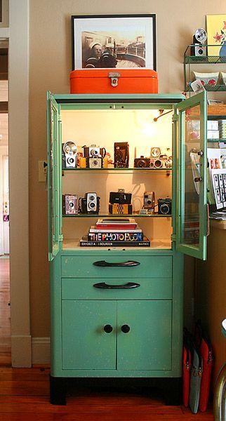 Vintage Medical Cabinet I Want The Have Cameras