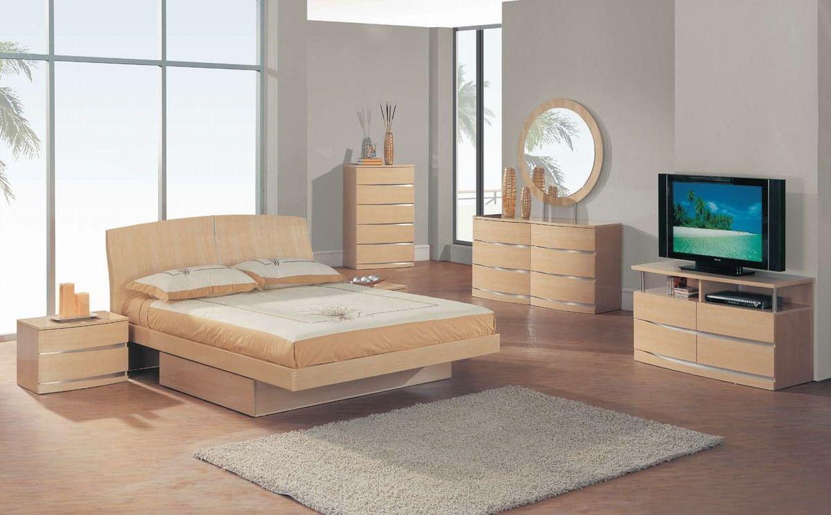 Solid Maple Bedroom Set