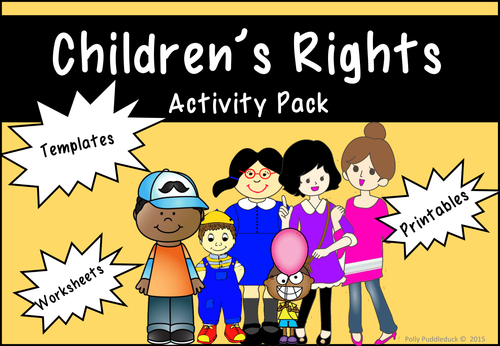 Child Protection Rights And Rules Activity Pack Ks1 Ks2 Children S Day Activities Childrens Rights Child Protection