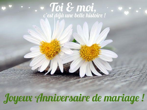 anniversaire de mariage en mois