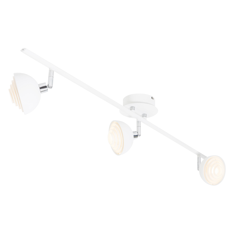 Motown Lamp Rail White Willoughby Ceiling Lights Wall