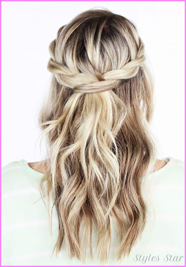 Bridesmaid Hairstyles Half Up Half Down Awesome Nice Bridesmaid Hairstyles Half Up Half Down  Stars Style
