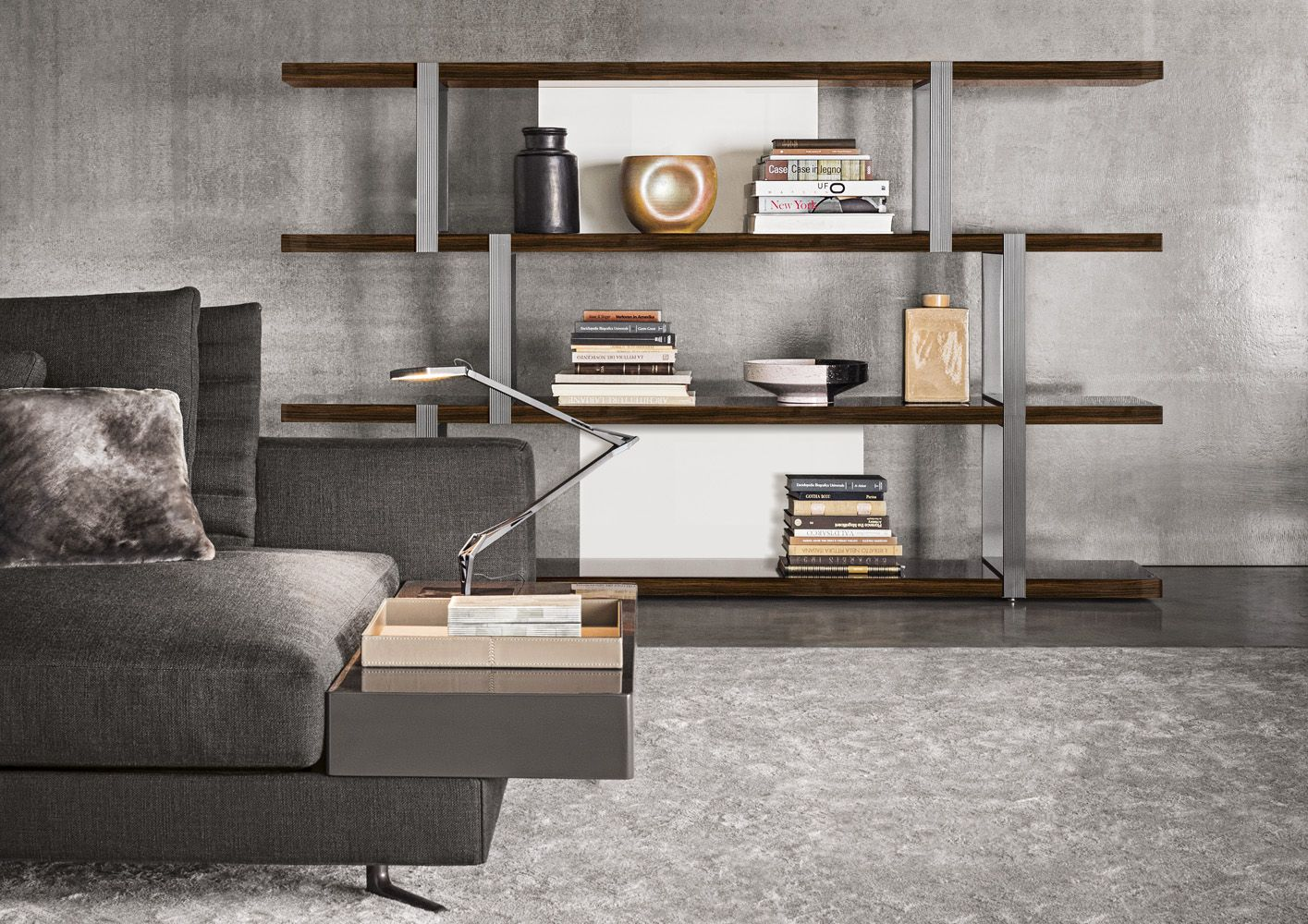 Minotti dalton shelving interiors in 2018 pinterest