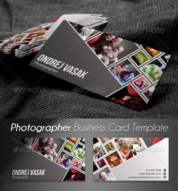 Photographer Artist Business Card Artist Business Cards - Artist business card template