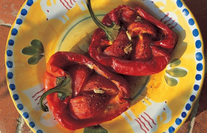 Piedmont Roasted Peppers | Recipes | Delia Online