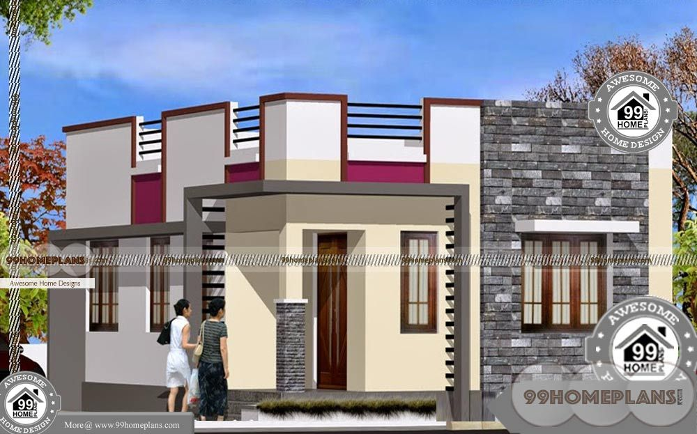Low Cost Simple Modern Home Design Modern House Plans Single Floor House Design Philippines House Design