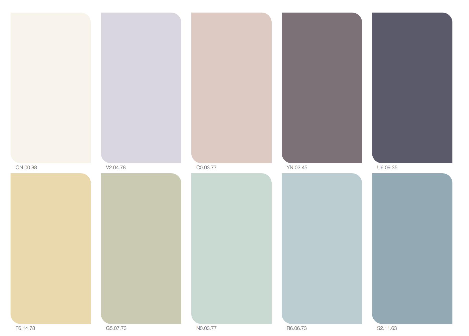 afbeeldingsresultaat voor flexa kleurenwaaier colored