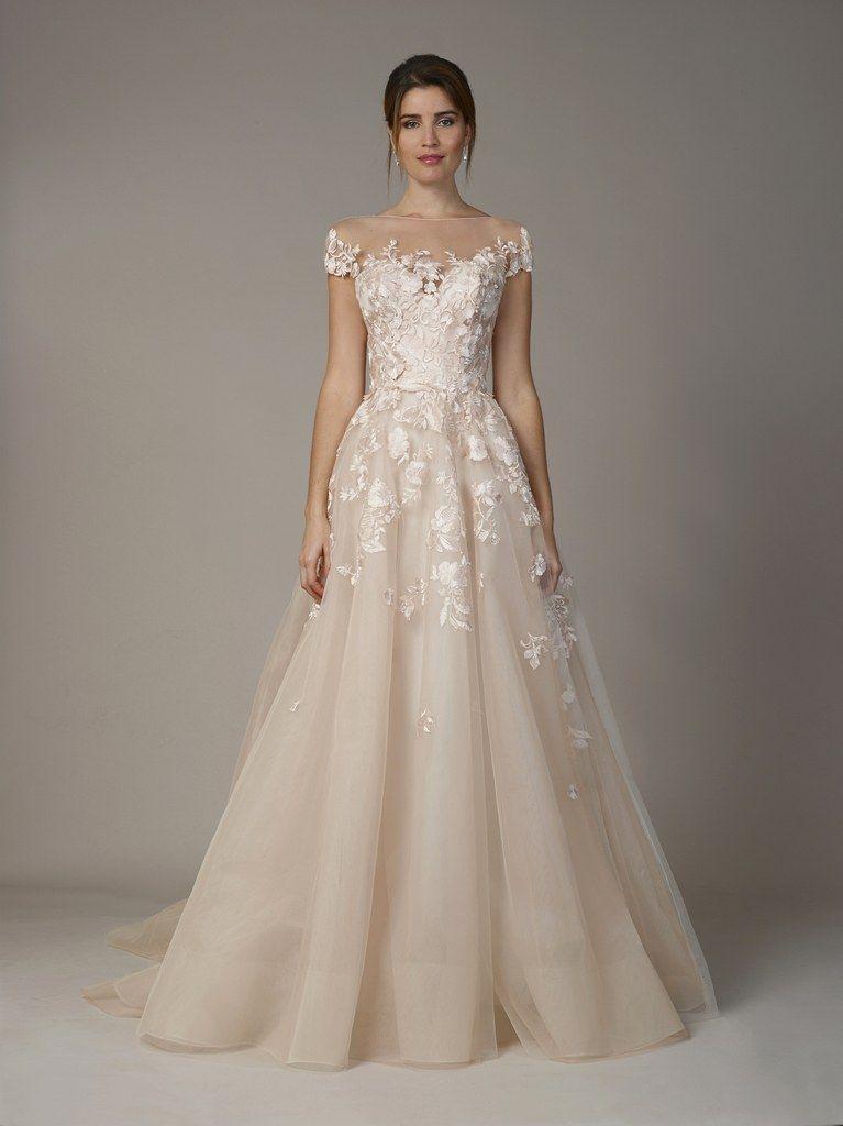 Liancarlo Wedding Dresses Fall 2018 2018 Wedding Dresses Trends Wedding Dresses Lace Fit And Flare Wedding Dress