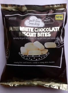 Marks Spencer Guilt Free Snacking Review White Chocolate