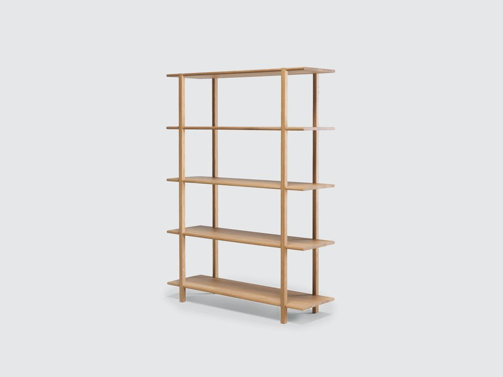 Farnsworth Bookshelf Oak Shelving Unit Oak Shelves Light Oak